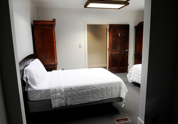 Don Knight | The Herald Bulletin<br /> A bedroom at Bridges of Hope, a new rehabilitation center in Anderson. Bridges of Hope has opened in the former Madison Park Church of God location on North Madison Avenue.