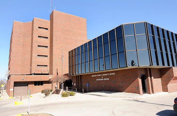 Don Knight | The Herald Bulletin<br /> The Madison County jail was built in 1982 and designed to house 207 inmates. There were 300 inmates housed there last Thursday.