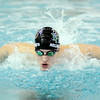 Don Knight | The Herald Bulletin<br /> Pendleton Heights swimmer Landis Hollingsworth practices on Wednesday.