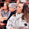 John P. Cleary |  The Herald Bulletin<br /> Members of the Madison County division of the Metropolitan Indianapolis Board of Realtors listen as ACS Superintendent Terry Thompson gives his FIRST facilities improvement plan during their meeting at Anderson High School January 11th.