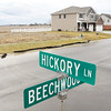 John P. Cleary |  The Herald Bulletin<br /> As lots are still for sale in the second phase of the Brookside division in Lapel a new development is proposed for 250 acres of farmland (background) just south of the present development.