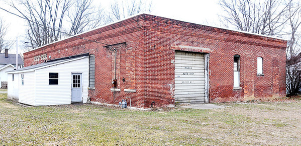 John P. Cleary    The Herald Bulletin<br /> Building at 308 North Meridian Street in Ingalls that is being considered for a new town hall after renovation.