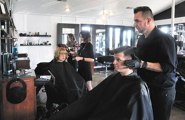 John P. Cleary | The Herald Bulletin<br /> Serendipity Hair Salon, in Pendleton, won Best Of hair salon.
