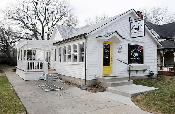 Don Knight | The Herald Bulletin<br /> Falls Perk coffee shop in Pendleton.