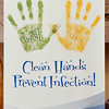John P. Cleary | The Herald Bulletin<br /> This message greets visitors in the lobby of St. Vincent Anderson as the outbreak of flu continues to spread.