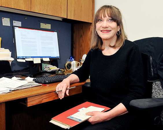 John P. Cleary | The Herald Bulletin<br /> Lessa Johnson, Anderson Police Department's Victim Assistance Unit coordinator, is retiring after 27 years.