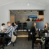 John P. Cleary |  The Herald Bulletin<br /> Jackrabbit Coffee opened December 28, 2017 with a soft opening in the former Hot Dog Circus building at John and 11th Streets.