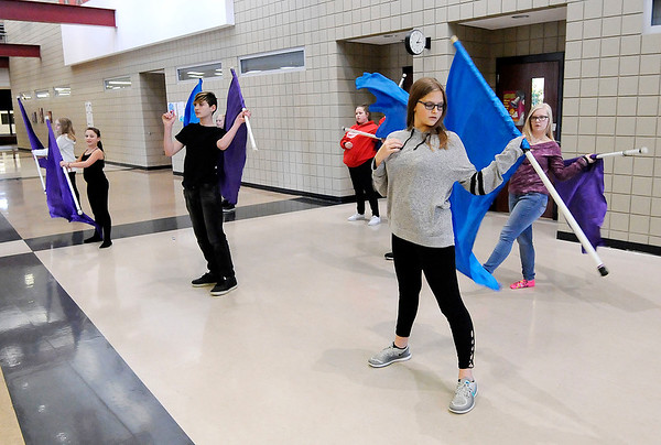 Don Knight |  The Herald Bulletin<br /> Highland Middle School's after school clubs.