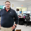 John P. Cleary | The Herald Bulletin<br /> Brent Jensen, is the new director of the Madison County Emergency Dispatch Center.