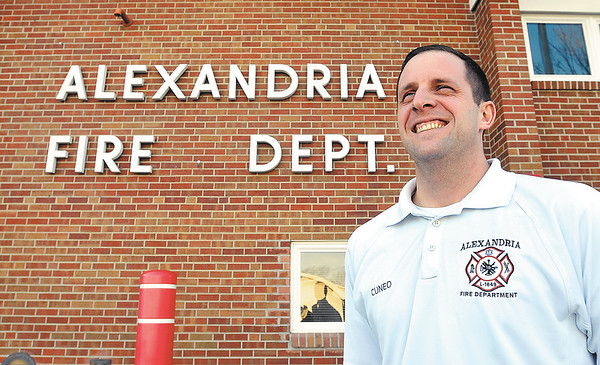 John P. Cleary | The Herald Bulletin<br /> Brian Cuneo, Alexandria Fire Chief, was voted Best Civil Servant in the MC Best Of voting.