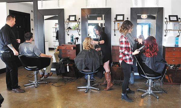 John P. Cleary   The Herald Bulletin<br /> Serendipity Hair Salon, in Pendleton, won Best Of hair salon.