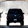 John P. Cleary | The Herald Bulletin<br /> With warmer temperatures, and sunshine, Monday, motorists were taking advantage of the conditions to rid their vehicles of the built up dirt and road salt like this man at Clancy's Carwash on east Third Street in Anderson.