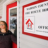 John P. Cleary | The Herald Bulletin<br /> Cami Davis, intake coordinator for the Madison County Fire Rescue House.