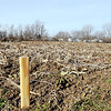 John P. Cleary | The Herald Bulletin<br /> Community Hospital will start growing their own produce this spring on this plot of land on the northwest side of the campus.