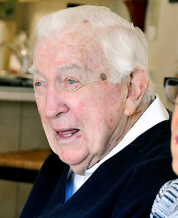 John P. Cleary | The Herald Bulletin<br /> Meredith Church, 95.