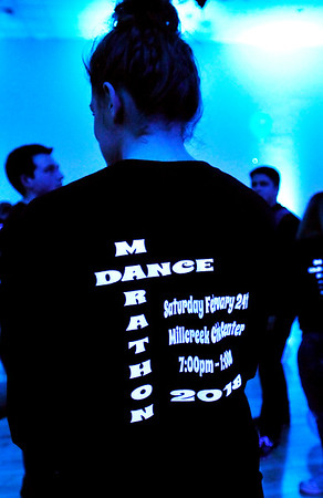 John P. Cleary | The Herald Bulletin<br /> Youth Leadership Academy of Madison County held their annual  dance marathon fundraiser Saturday evening at the Chesterfield Millcreek Civic Center.