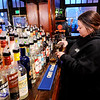 Don Knight | The Herald Bulletin<br /> Ann Nolin pours a glass Longbranch Bourbon at The Stable in Pendleton.
