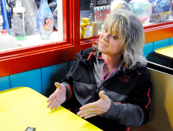 Don Knight | The Herald Bulletin<br /> Angie Colip has been the manager at Championship Lanes for the past four years, but started bowling at the age of 5.