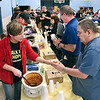 John P. Cleary | The Herald Bulletin<br /> Nine teams competed in the Walk For Hope Addiction Awareness Chili Cook-Off Saturday here passing out cups of their offerings hoping for being judged the best chili.