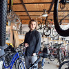 John P. Cleary | The Herald Bulletin<br /> Ben Orcutt, owner of Buckskin Bikes, was named entrepreneur of the year for 2018.