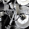 John P. Cleary | The Herald Bulletin<br /> Barber Manufacturing celebrating 125 years in business in Anderson. Springs being formed from high-tempered wire on this machine.