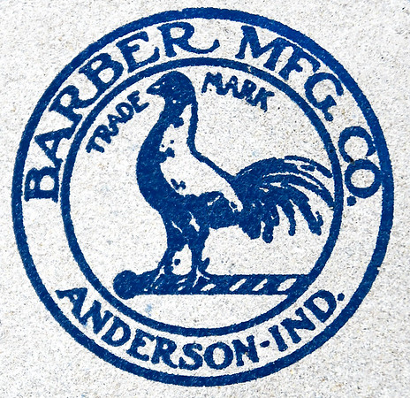 John P. Cleary   The Herald Bulletin<br /> Barber Manufacturing celebrating 125 years in business in Anderson. This is the company's logo that founder Fred Barber came up with.