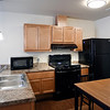 John P. Cleary | The Herald Bulletin<br /> The new Fieldhouse Apartments come completely furnished including all appliances as seen here in the kitchen area.