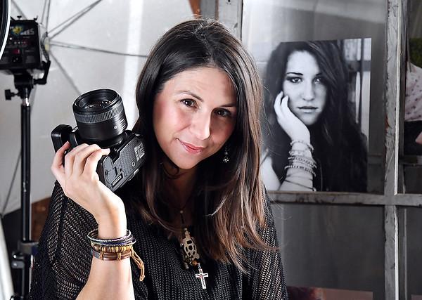 John P. Cleary | The Herald Bulletin<br /> Lisa Hobbs, Best Photographer winner in the Best Of voting.