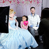 Don Knight | The Herald Bulletin<br /> Emily Frank photographs Aaliyah Bergan, 6, as she sits with Haley and Trevor Geiger dressed as Cinderella and Prince Charming at Aerial Fit2Fly on Saturday.