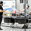 Don Knight | The Herald Bulletin<br /> Paul Nurkkala, left, and Pete Bitar test the VertiCycle at Flagship East on Tuesday.