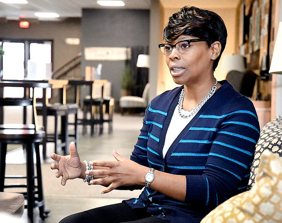 Rev.Tressena Jones, of First Church of the Nazarene, talks about the  new community center the church plans to open that will provide numerous opportunities for area residents.