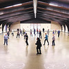 Line dance classes is one of many different activities that are held at the Rangeline Community Center.