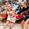 Eagles player, Bailee Webb moves past the defense in the second quarter against South Central on Saturday night.