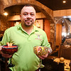 Burro Loco Mexican Restaurant won Best Margarita in the Best Of contest.<br /> Here server Jesus Carreon prepares to serve a strawberry and lime flavored margarita to customers.