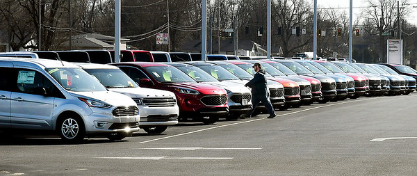 According to a national survey, a prospective vehicle buyer will visit an average of 2.5 dealerships in person before purchasing one.