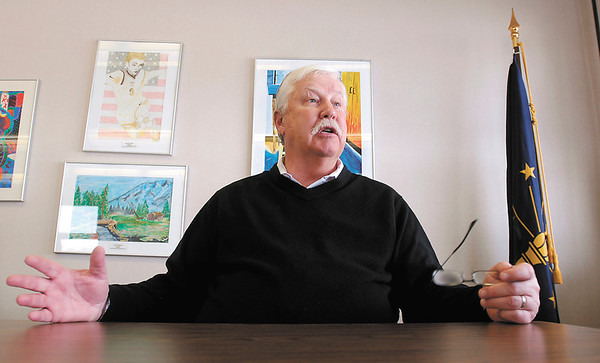 Glen Nelson, Superintendent of Elwood Community Schools, talks about his past and his future on his last day on the job as superintendent.