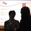 Women talk and network with each other at the FAB luncheon held Friday.