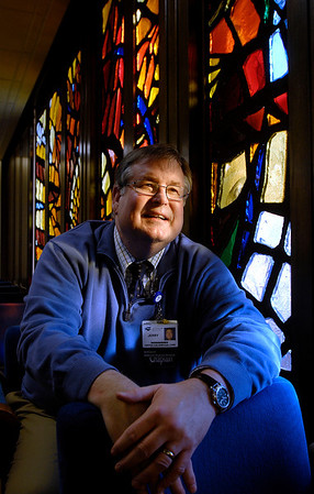 Chaplain Jerry Butt of St. Vincent Anderson Regional Hospital.