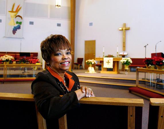 Pastor Gina Kirkland of New Horizons United Methodist Church.
