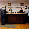 "The information & reception counter for the courts in the Madison County Government Center was made for walk-up traffic.  This one of the areas the Madison County Council of Governments has looked at in their ""transition plan"" to make the government buildings truly accessible under the Americans with Disabilities Act."
