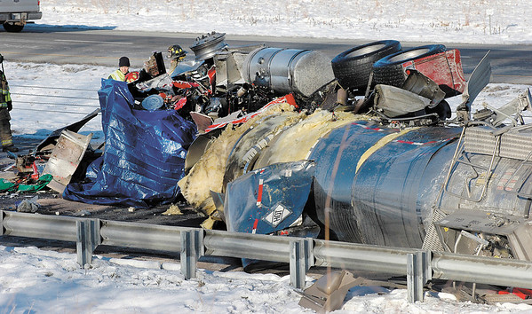 Tanker truck fatal on I 69 at the 22mm