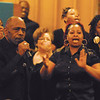 Alan Alexander sings with the Anderson Community Choir.