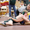 Pendleton Heights' Jeremiah Roose wresltes Tri-Central's Clay Shaffer for the 113 pound championship during the  Wrestling Sectional at Hamilton Heights on Saturday. Roose went on to win by decision 7-5.