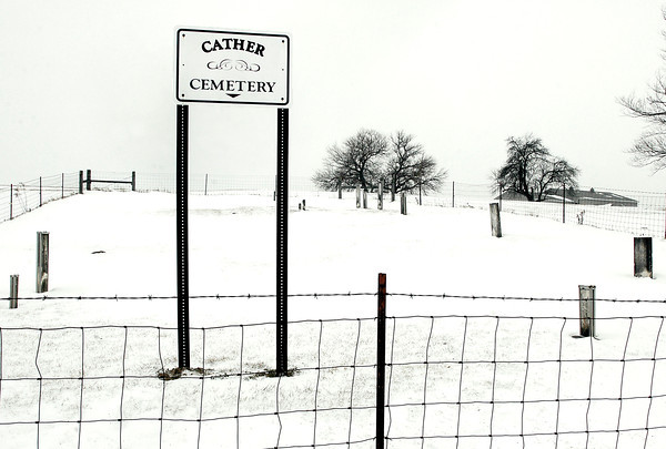 THB photo/John P. Cleary<br /> Cather Cemetery is located on West 8th St. Road between County Road 400 West and 500 West.