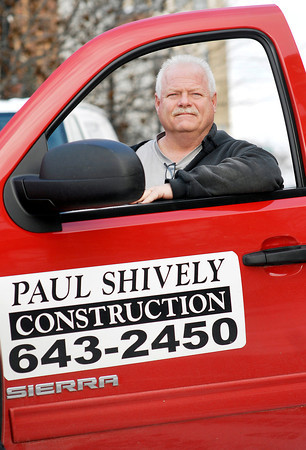 THB photo/John P. Cleary<br /> Paul Shively of Paul Shively Construction.