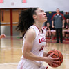 Photo by Chris Martin for THB<br /> Frankton's Destyne Knight drives to an open basket on a fast break Thursday in a win over Tipton