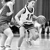 THB file photo<br /> Madison Heights' Melissa Graham drives up court against Anderson in the 1991 Anderson sectional tournament.