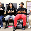 Don Knight | The Herald Bulletin<br /> Anderson High School students go over new vocabulary in their ASL class. ASL is the third most popular language in the U.S.