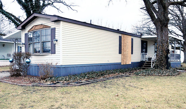 Don Knight | The Herald Bulletin Barbara J. Tonyes was severely burned in her trailer at Redbud Estates Wednesday night. She was transported to the burn unit at Sidney and Lois Eskenazi Hospital in Indianapolis, where she died Thursday afternoon.