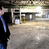 Don Knight | The Herald Bulletin<br /> Noah Rosen, president of Kleenco, stands in the former Weidner Chevrolet and AutoWorld building on Broadway. Rosen said the company will use the Anderson location for a shop and storage and eventually office space.